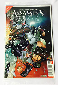 RARE ASSASSINS CREED Issue #1 Comic Nerd Block EXCLUSIVE Variant February 2017