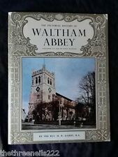 GUIDEBOOK - PICTORIAL - WALTHAM ABBEY p1965 25pp