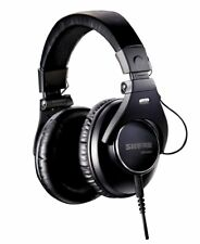 Shure SRH840 Pro Studio - DJ Headphones detachable cable Extra ear pads & Pouch