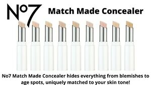 No7 Match Made Concealer 3g. Available In 14 Shades Pick Your Now Brand New