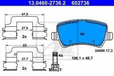 UAT Bremsbelagsatz Frein À Disque 13.0460-7228.2 avant pour Ford Mondeo 4 ba7 wa6