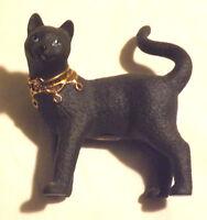 Cute Diamond & Onyx Lenox Standing Black Cat