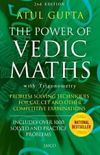 The Power of Vedic Maths by Gupta  New 9788179923573 Fast Free Shipping,,
