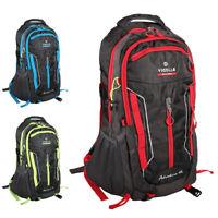 60L Outdoor Hiking Camping Waterproof Travel Luggage Rucksack Backpack Bag Pack
