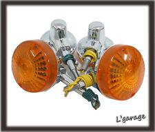 [LG989] SUZUKI GT125 GT185 GT250 GT350 TS400 FRONT + REAR SIGNAL 4PCS 12V (CB)