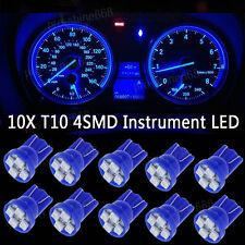 BLUE 4SMD LED 194 Wedge Speedo Dash Gauge Instrument Panel Light Bulb For Chevy