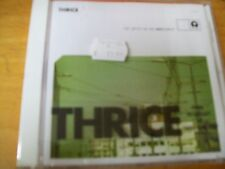 THRICE THE ARTIST IN THE AMBULANCE  CD SIGILLATO