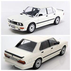 1/18 Norev BMW M535i 1987 White Edition Limitée 1000Ex Neuf Livraison Domicile