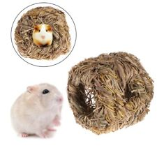 Hamster Nest Natural Grass Small Animal Pet Toys Cage For Chinchilla Guinea Pigs