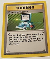 Computer Search Trainer Card 71/102 Mint
