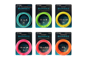 DRENNAN - HOLLOW ELASTIC - CARP BUNGEE - WITH BUNGEE CONNECTOR - COARSE FISHING