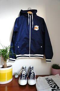 Maison Kitsune Limited Edition Moonassi Korean Fox Jacket & NBA Totebag & Blue
