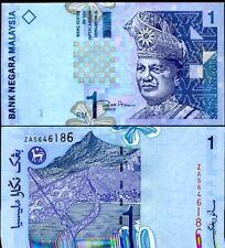MALAYSIA 1 RINGGIT P 39 REPLACEMENT ZA PREFIX UNC