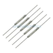 10Pcs 10-15AT 2 x 14mm MKA-14103 Tone Leads Glass N/O SPST Reed Switches