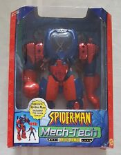 Spider-Man Mech-Tech Battle Armor - 2002 - ToyBiz - Great Condition