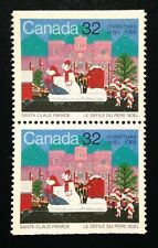 Canada #1070 MNH, Christmas - Santa Claus Parade Pair of Stamps 1985