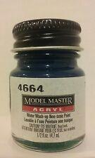 Testors Model Master Acrylic paint 4664, Teal.