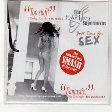 (EN982) The Fake Lazy Supernovas, Just Time for Sex - 2009 DJ CD