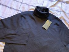 NWT Ralph Lauren Black Label Turtleneck Pullover Sweater Jumper Black Men's XXL