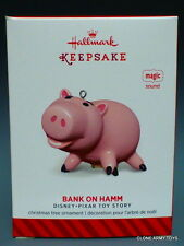 Bank On Hamm Disney Toy Story Pixar 2014 HALLMARK KEEPSAKE CHRISTMAS ORNAMENT