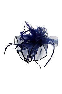 Fascinator Classic Wedding Races Occasion Headband Alice Royal Ascot Flower
