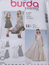 Burda Sewing Pattern 7011 Ladies Misses Close Fitting Dress Size 6-16 Uncut