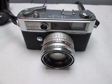 Vintage 1960s YASHICA IC Camera w/Yashinon 1:1.8 f45mm Lens & Case Untested