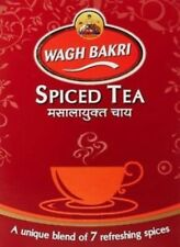 Indian Breakfast Spices CTC Blend 250gm Wagh Bakri Spiced Masala Chai Black Tea