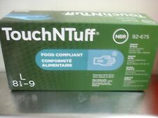 Ansell Touch-N-Tuff Robust Nitrile Disposable Gloves 100pk Large 92-675