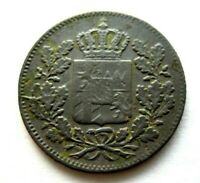 Bayern 2 Pfennige 1850 Kupfer Maximilian II.