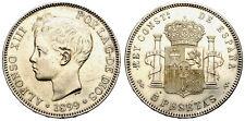 ALFONSO XIII. 5 PESETAS. 1899*99./2