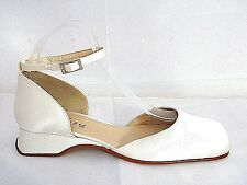 RAINBOW CLUB LADIES SANNE IVORY SATIN WEDDING SHOES WOMANS UK 5 - EUR 38