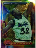 1994 94 Topps Finest Shaquille O'Neal #3, Orlando Magic, HOF