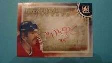 2012 13 ITG FOREVER RIVALS MIKE McPHEE AUTOGRAPH MONTREAL CANADIENS