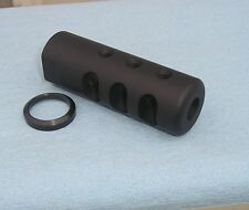 5/8-24 MUZZLE BRAKE MADE IN THE USA .308 7.62 .300 308 300 WITH CRUSH WASHER