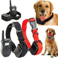 2 Dog Shock Training Collar 4 Modes with Remote Control Waterproof IP67 500Yards