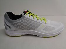 Reebok Size 8 QUANTUM LEAP White Gray Training Running Sneakers New Womens Shoes