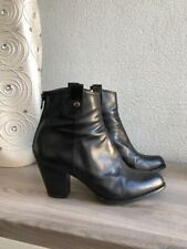 stuart weitzman Black Leather Boots Size 39.5