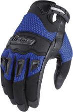 Gants bleu pour motocyclette Eté