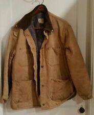 Vintage Madewell Work Jacket Tan Blanket Lined Coat, Preowned, 1970's see desc..