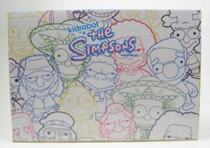 Kidrobot The Simpsons Series 2 Mini Figures, 1 New Sealed Case Of 20 Blind Boxes