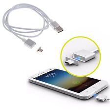 2.4A Rapide Micro USB Magnétique Adaptateur Chargeur Câble pour Samsung Android