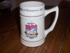 MINNESOTA TWINS WORLD CHAMPIONS 1987 MUG
