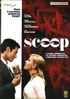 WOODY ALLEN - SCOOP (2006) Hugh Jackman DVD EX NOLEGGIO - MEDUSA