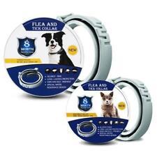 Pet Anti Flea Tick Neck Collar for Dog Cat Kitten 8 Months Protection Adjustable