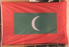 """""""The Maldives""""  Vintage Maritime Flag   46""""  by 72"""""""
