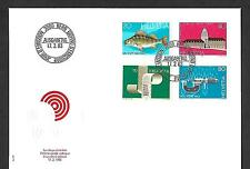 SWITZERLAND 1983 FIRST DAY COVER #733/36, COMPLETE SET !!