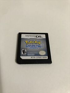 Pokemon Soul Silver Version AUTHENTIC (Nintendo DS, 2010) Cartridge Only Tested
