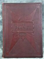 """VINTAGE COLLECTIBLE 1929 MARS HIGH SCHOOL YEARBOOK """"THE PLANET"""" FROM MARS, PA"""