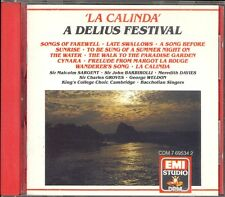 DELIUS - Songs Of Farewell / Late Swallows / Walk To The Paradise Garden - EMI
